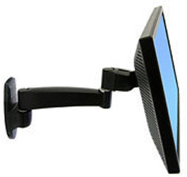 Image of Ergotron 200 Series Wall Mount Arm, 1 Extensions (45-233-200)