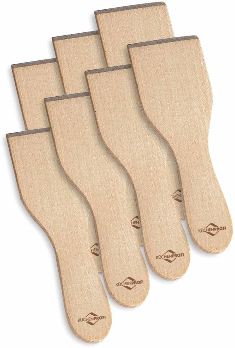 Küchenprofi Raclette-Schaber 8er-Set Holz