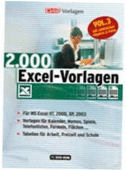 Chip 2000 Excel-Vorlagen Vol.3 (DE) (Win)