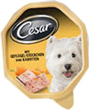 Image of Cesar Selezioni dell'orto con pollo e carotine (150 g)