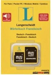 Langenscheidt Speicherkarte Wörterbuch Französisch