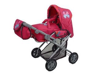 Babypuppen & Zubehör Puppenkombi Kyra flower power pink