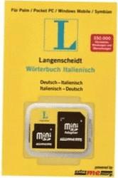 Langenscheidt Speicherkarte Wörterbuch Italienisch