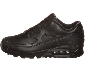 air max 90 leather uomo nere