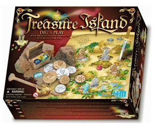 4M Dig & Play - Treasure Island