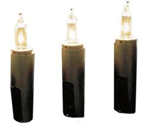 grün P-LED 421-10 LED Mini-Lichterkette 20er warmweiss