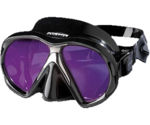 Maske Atomic SubFrame clear w/black ABC & Blei Tauchen UWFUN24