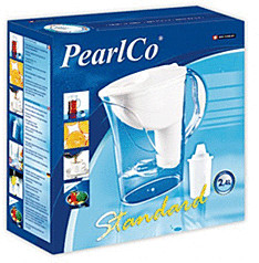 PearlCo Standard Wasserfilter weiß