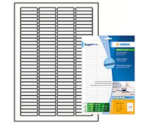 Herma Dia-Etiketten A4 weiß 43,2x8,5 mm Papier matt 3200 St