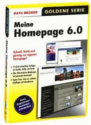 Data Becker Meine Homepage 6 (DE) (Win)