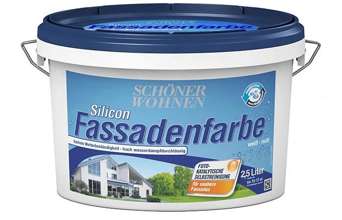 Schöner Wohnen Silicon Fassadenfarbe 2,5 l