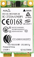 Hewlett-Packard HP un2400 EV-DO/HSDPA Mobile Br...
