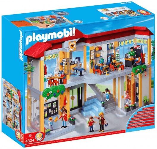 Playmobil Schule Große Schule mit Einrichtung (...