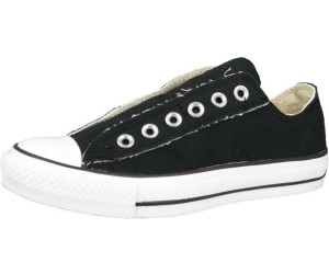 Converse Chuck Taylor All Star Slip Ox Scarpe Sneaker Donna Uomo Nero 1t366