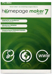 bhv Homepage Maker 7 Express (DE) (Win)