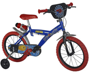 dino bikes spiderman 16 zoll ab 105 90 preisvergleich. Black Bedroom Furniture Sets. Home Design Ideas