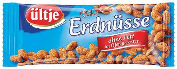 Ültje Erdnüsse ohne Fett geröstet (50 g)