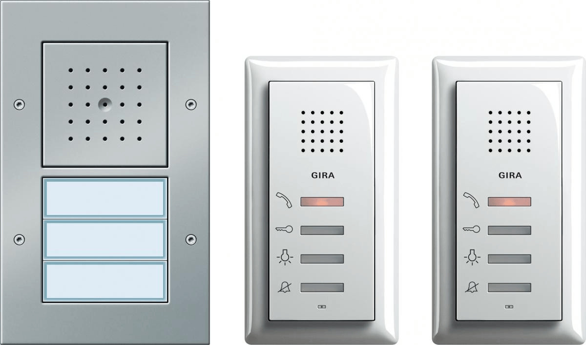 Gira Zweifamilienhaus-Paket Audio (49544)