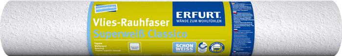 Erfurt Vlies-Rauhfaser Superweiss Classico (10,...