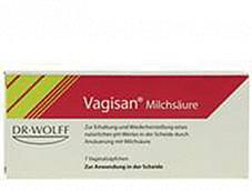 Vagisan Milchsaeure Vaginalzäpfchen (7 Stk.)