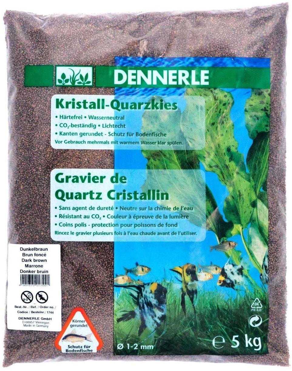 Dennerle Kristall-Quarzkies dunkelbraun 10 kg