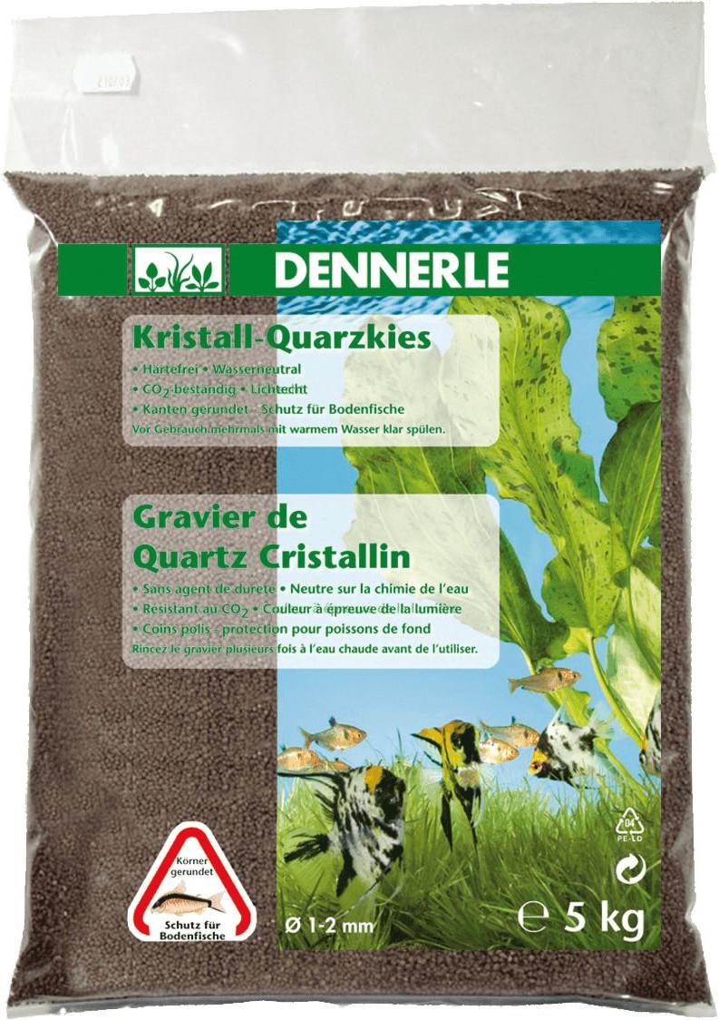 Dennerle Kristall-Quarzkies dunkelbraun 5 kg