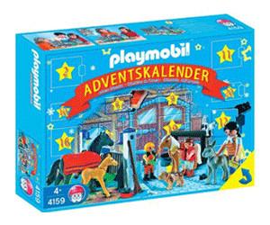 Playmobil Weihnachten.Playmobil Weihnachten Adventskalender Reiterhof 4159 Ab 51