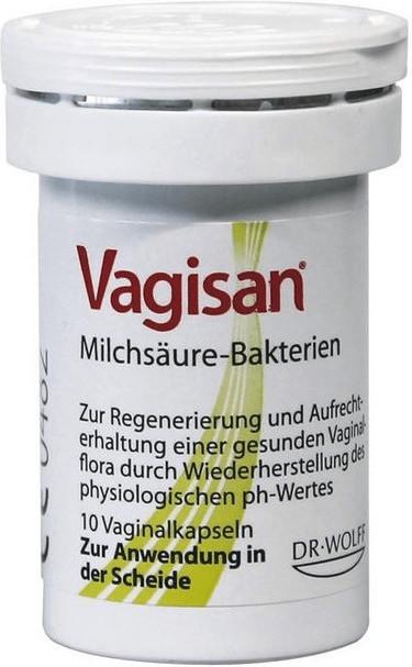 Vagisan Milchsaeure Bakterien Vaginalkapseln (10 Stk.)