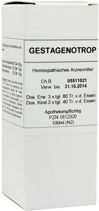 Marien-Apotheke Gestagenotrop Dil. (100 ml)