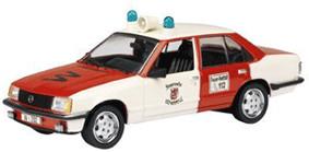 Schuco Opel Rekord E ´´Feuerwehr Wuppertal´´ (3...