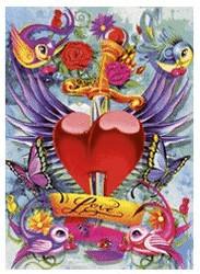Schmidt-Spiele Tattoo - Love