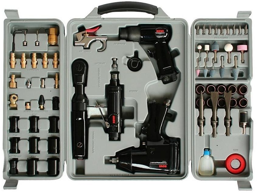 Rowi Druckluft-Werkzeug-Set 71-tlg | Baumarkt > Werkzeug > Werkzeug-Sets