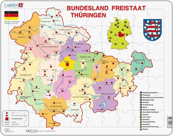 Larsen Freistaat Thüringen