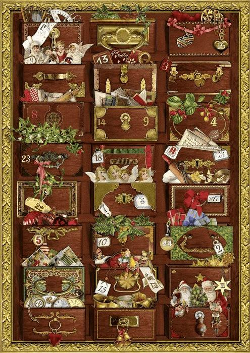 Coppenrath Nostalgische Weihnachtskommode Adven...