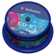Verbatim CD-R 700MB 80min 52x Extra Protection ...