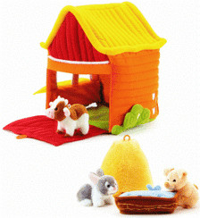Trudi Spiel-Set Bauernhof + Tiere