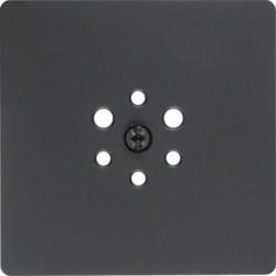 Berker Zentralplatte für 6-polige Steckdose (14741606)
