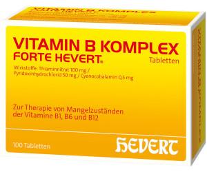 Hevert Vitamin B Komplex Forte Tabletten (100 Stk.) ab 13