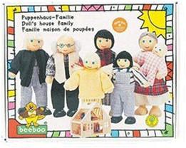 Beeboo Puppenhaus-Familie