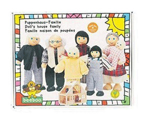 Image of Beeboo Dollhouse Family