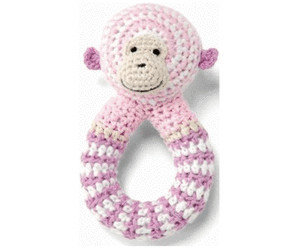 Image of Bellybutton Crochet Rattle Monkey