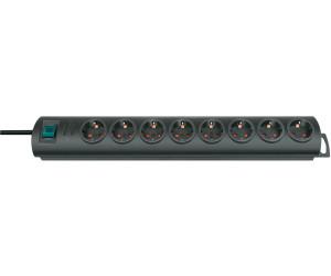 Brennenstuhl Primera-Line Steckdosenleiste 8-fach schwarz schalter 1153300128