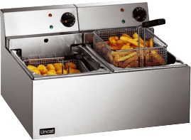 Image of Lincat Lynx 400 Electric Fryer Twin Tank (LDF2)