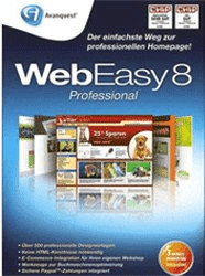 Avanquest WebEasy 8 Professional (DE) (Win)