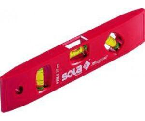 200 mm Sola-Torpedowasserwaage PTM 5 20 cm Magnet-Wasserwaage