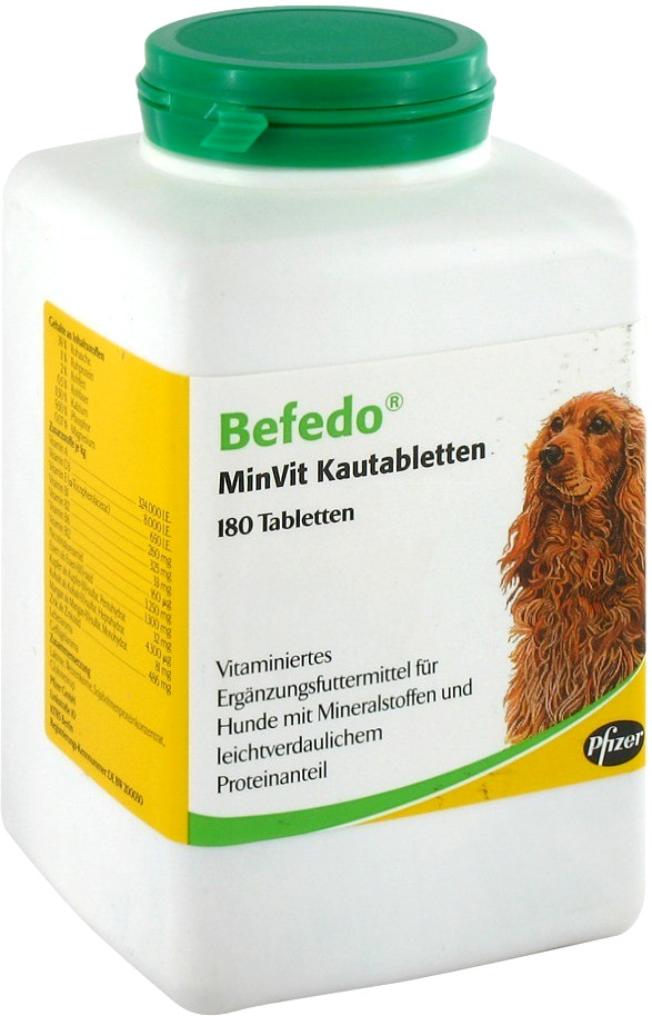 Pfizer Tiergesundheit Befedo Minvit für Hunde