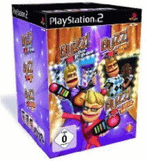 Buzz! - Triple Pack Quiz + Buzzer (PS2)