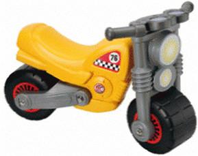 Wader Motorrad gelb