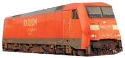 Arnold Güterzug Elektrolokomotive 152 Railion D...