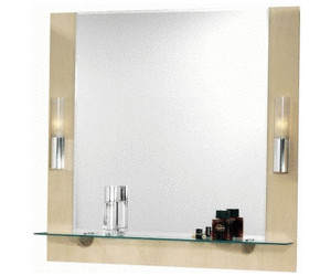 Badspiegel Mit Ablage Und Beleuchtung fackelmann 82046 domino spiegelelement ab 245 00 preisvergleich